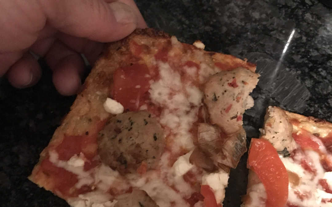 Cauliflower Pizza Crust that Doesn't Suck