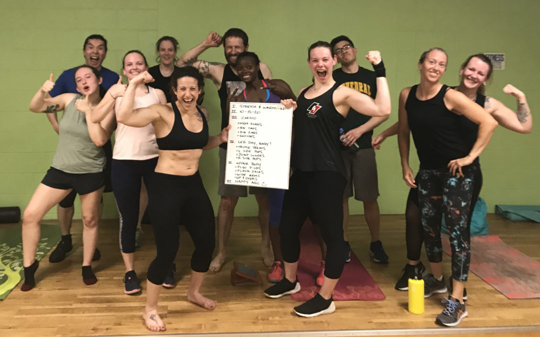 HIIT Workout: May 9, 2018