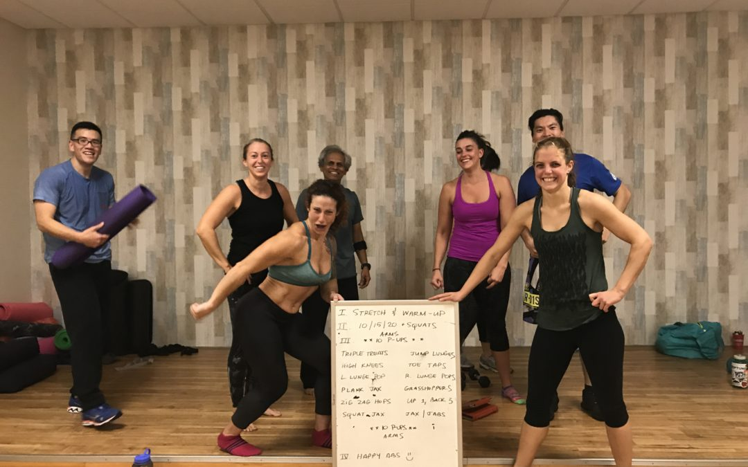 Back by Popular Demand (i.e. Kim's Demand)…Your Free Weekly HIIT Workout